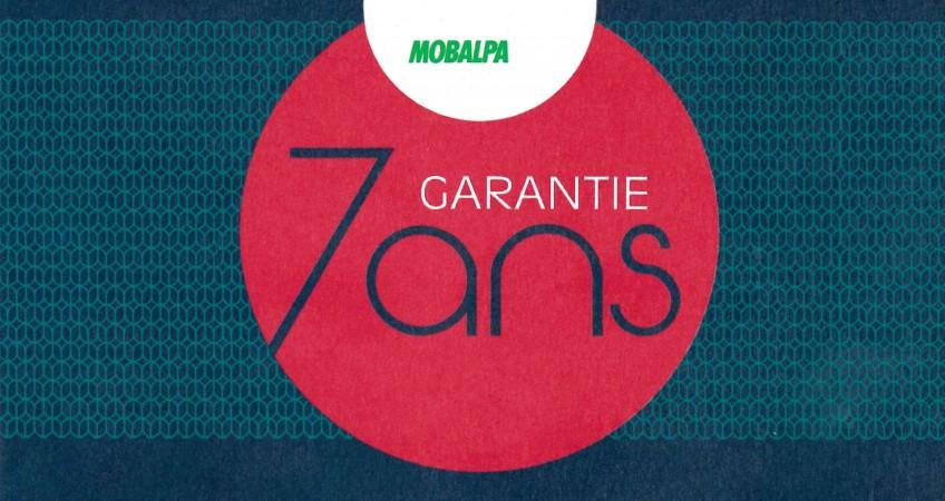 GARANTIE 7ANS